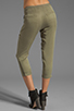 Image 3 of Funktional Slit Pocket Pants in Olive Opacity