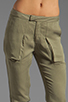 Image 4 of Funktional Slit Pocket Pants in Olive Opacity