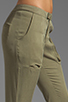 Image 5 of Funktional Slit Pocket Pants in Olive Opacity