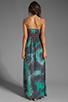 Image 4 of Gypsy Junkies Talulah Maxi Dress in Teal Tie Dye