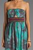 Image 5 of Gypsy Junkies Talulah Maxi Dress in Teal Tie Dye