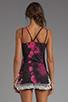 Image 2 of Gypsy Junkies The Gypsy Slip Tank in Pink Tie Dye