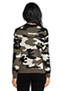 Image 3 of Generation Love Ruby Army Sweater in Camouflage