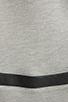 Image 4 of Generation Love Bobo Italian Faux Leather Sleeve Sweatshirt in Grey