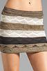 Image 4 of Goddis Nester Skirt in Mocha
