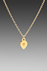 Image 2 of gorjana Alphabet Charm Necklace in 'C'