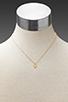 Image 4 of gorjana Alphabet Charm Necklace in 'C'