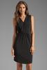 Image 1 of Graham & Spencer Stretch Jersey Dress in Black