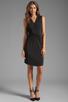 Image 2 of Graham & Spencer Stretch Jersey Dress in Black