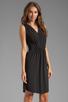 Image 3 of Graham & Spencer Stretch Jersey Dress in Black