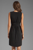 Image 4 of Graham & Spencer Stretch Jersey Dress in Black