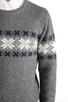 Image 5 of GANT Rugger Flakey Sholder Sweater in Dark Grey Melange