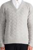 Image 4 of GANT Rugger Zig Sag Sweater in Light Grey Melange