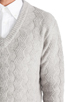 Image 5 of GANT Rugger Zig Sag Sweater in Light Grey Melange