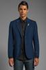 Image 2 of G-Star Correct Omega Blazer in Sapphire Blue