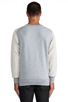 Image 3 of G-Star Ace Saddler Sweatshirt in Grey Heather