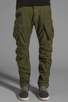 Image 1 of G-Star Rovic 3D Loose Tapered in Sage