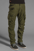 Image 2 of G-Star Rovic 3D Loose Tapered in Sage