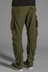 Image 4 of G-Star Rovic 3D Loose Tapered in Sage