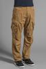 Image 2 of G-Star Rovic Loose Pant in Dark Fall