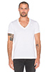 Image 1 of G-Star 2 Pack V-Neck Tees in White
