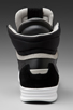 Image 3 of G-Star Yard Pyro Hi Top Sneaker in Black Leather/Suede