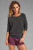 Image 1 of G-Star Slim Sweatshirt in Black Heather