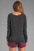 Image 2 of G-Star Slim Sweatshirt in Black Heather