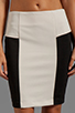 Image 4 of Greylin Angelina Peplum Skirt in Ivory