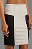Image 5 of Greylin Angelina Peplum Skirt in Ivory