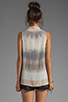 Image 2 of Gypsy 05 Hampton Silk S/L Placket Top in Oyster