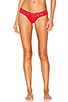 Image 1 of Hanky Panky Signature Petite Low Rise Thong in Red