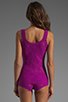 Image 2 of Hanky Panky Classic Unlined Cami in Hot Fuchsia
