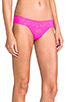 Image 3 of Hanky Panky Low Rise Thong in Passionate Pink