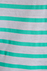 Image 4 of Monrow French Stripe Tee in White/Mint