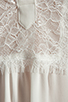 Image 5 of Haute Hippie Lace Detailed Blouse in Swan