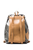 Image 2 of Harper Ave Kazuyo Backpack in Black & Clear