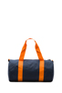 Image 2 of Herschel Supply Co. Sutton Mid Duffle in Navy/Mandarin