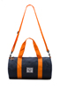 Image 5 of Herschel Supply Co. Sutton Mid Duffle in Navy/Mandarin
