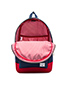 Image 4 of Herschel Supply Co. Settlement Backpack in Red/Navy