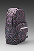 Image 3 of Herschel Supply Co. Pop Quiz Backpack in Purple Leopard
