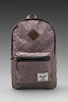 Image 1 of Herschel Supply Co. Bad Hills Collection Heritage Plus Backpack in Grey