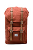 Image 1 of Herschel Supply Co. Little America Backpack in Rust