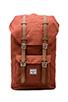 Image 1 of Herschel Supply Co. Little America Backpack in Rust