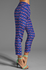 Image 2 of harlyn Peg Leg Trouser in Flamingo Print