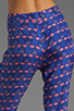 Image 6 of harlyn Peg Leg Trouser in Flamingo Print