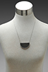 Image 5 of House of Harlow Tuareg Granulation Necklace in Antique Silver