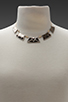 Image 5 of House of Harlow Sancai Collar Necklace in Tri-tone