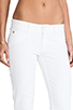 Image 5 of Hudson Jeans Collin Skinny in White