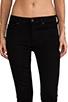 Image 4 of Hudson Jeans Nico Mid Rise Super Skinny in Black